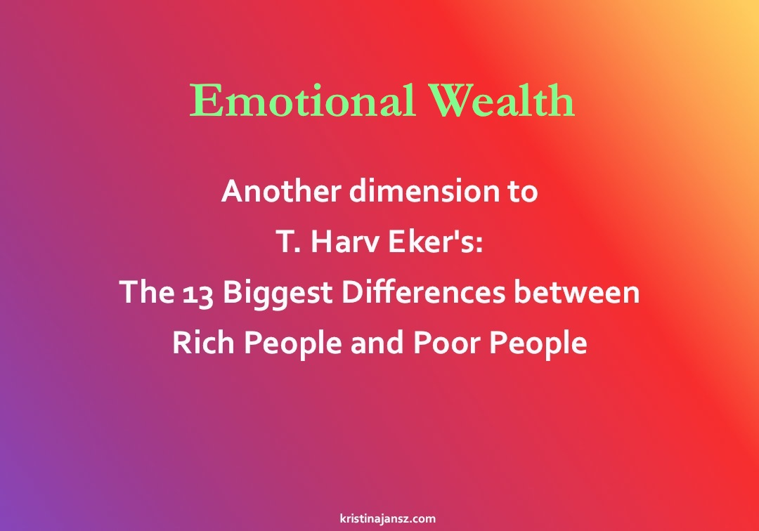 Emotional Wealth