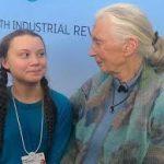 Greta Thunberg Jane Goodall