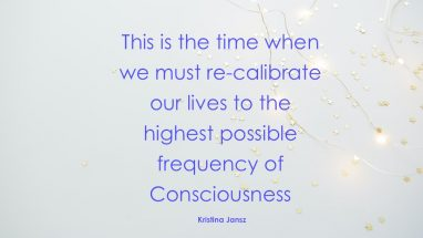 Raising our frequency